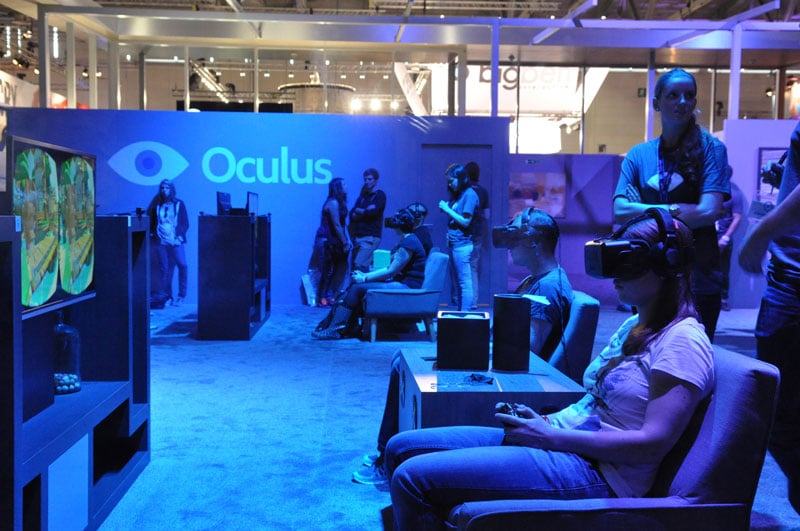 People using Oculus